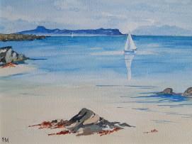 Sailing by Arisaig (Sheila Mann)