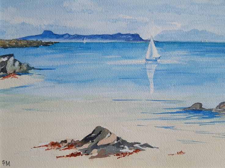 Sailing by Arisaig (Sheila Mann)